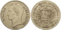 5 Bolivares 1936 Venezuela Republik seit 1...