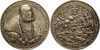 Silbergussmedaille 1536 Sachsen-Kurfürsten...