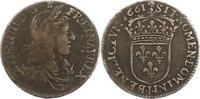 1/12 Ecu 1661  I Frankreich Ludwig XIV. 16...