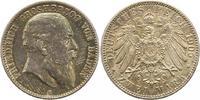 2 Mark 1905  G Baden Friedrich I. 1856-190...
