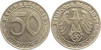 50 Reichspfennig 1939  F Drittes Reich  Pr...