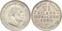 2 1/2 Silbergroschen 1870  A Brandenburg-P...