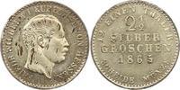 2 1/2 Silbergroschen 1865 Hessen-Kassel Fr...