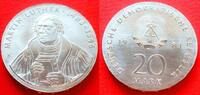 20 Mark 1983 DDR Martin Luther Stempelglanz