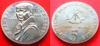 5 Mark 1986 DDR Heinrich von Kleist Stempe...