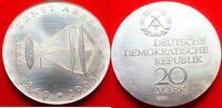 20 Mark 1980 DDR Ernst Abbe Stempelglanz