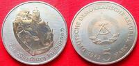 5 Mark 1983 DDR Die Wartburg bei Eisenach ...