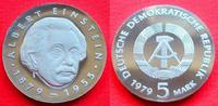 5 Mark 1979 DDR Albert Einstein Polierte P...