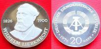20 Mark 1976 DDR Wilhelm Liebknecht Silber...