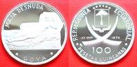 100 Pesetas 1970 Aequatorialguinea F. Goya...