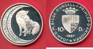 10 Diners 1997 Andorra Fuchs mit Jungtier,...