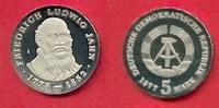 5 Mark 1977 DDR Friedrich Ludwig Jahn Poli...