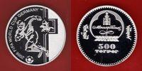 500 Tugrik 2006 Mongolei Spieler und Bogen...