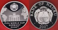 10 Dollars 2007 Nauru Brandenburger Tor - ...