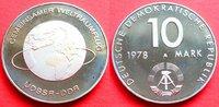 10 Mark 1978 DDR Justus von Liebig Silber ...