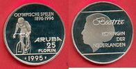 25 Florin 1995 Aruba Olympiade 1996 Atlant...