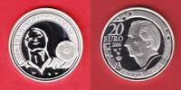 20 Euro 2005 Belgien Spieler und Ball - Fu...