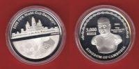 3.000 Riels 2004 Kambodscha Hologramm - Fu...