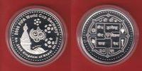 2004 Nepal Emblem und Tempel - Fußball WM...