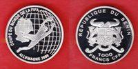 1000 CFA 2006 Benin Torwart/Deutschlandkar...