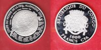 1000 CFA 2006 Kongo Globus - Fußball WM 20...