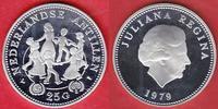 25 Gulden 1979 Niederländische Antillen UN...