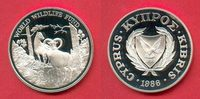 1 Lira 1986 Zypern Zypern-Mufflons, Tierwe...