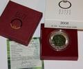 25 euro 2008 österreich licht handgehoben