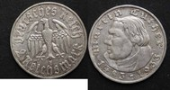 2 mark 1933 e deutschland martin luther ss+