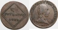 Pfennig 1805 ERZBISTUM SALZBURG Kurfürst F...