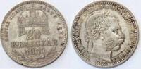 20 Krajczar 1869 GYF Österreich-Ungarn Fra...