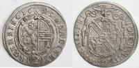 Halbbatzen (2 Kreuzer) 1695 ERZBISTUM SALZ...