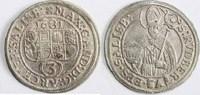 Groschen (3 Kreuzer) 1681 ERZBISTUM SALZBU...