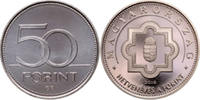 50 Forint 2016 Ungarn - Hungary - Magyaroszág 70 years Forint Currency ... 1,25 EUR  +  10,00 EUR shipping