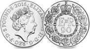 5 Pounds 2016 Grossbritannien - Great Britain 90th Birthday of Her Maje... 19,99 EUR  Excl. 10,00 EUR Verzending