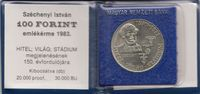 100 Forint 1983 Ungarn - Hungary 150 years 'Light, Credit and Stadium' ... 5,00 EUR  +  10,00 EUR shipping
