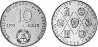 10 Mark 1975 Deutsche Demokratische Republik 20 Years Warsaw Tready vz-... 2,00 EUR  +  10,00 EUR shipping