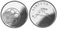 10 Litu mit Box 2014 Litauen - Lietuva - Lithuania Lithuanian Culture (... 39,00 EUR  Excl. 10,00 EUR Verzending