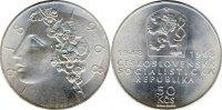 50 Kronen 1948 CSR / CSSR / CSFR - Tschechoslowakei 50 years Republic -... 38,00 EUR  Excl. 10,00 EUR Verzending