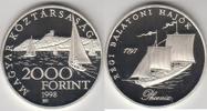 2 000 Forint 1997 Ungarn - Hungary Schiffe...