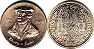 Deutschland DDR Medaille auf Luther unz