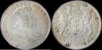 30 Groshen 1763 Poland-Danzig 1763REOE Poland-Danzig, August III 30 Groshen in gEF Rare gEF