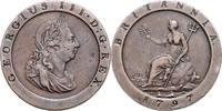 1 Penny 1797 Großbritannien Georg III. 176...