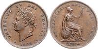 Penny 1826 Großbritannien Georg IV. 1820-1...