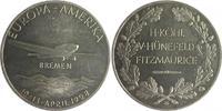 Medaille 1928 Luftfahrt a.d. Ost-Westflug ...