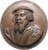 Kunstguss, einseitiges Medaillon 1530 Rena...