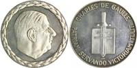 Silbermedaille o.J. Frankreich Charles de ...
