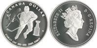 1 Dollar 1993 Kanada Stanley Cup PP, mit B...