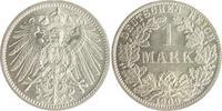 1 Mark 1909 A Kaiserreich  vz-st