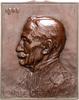 Bronze-Plakette 1908 Belgien Leopold II. 1...